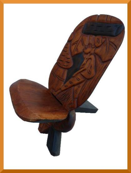Chaise palabre for Chaise africaine